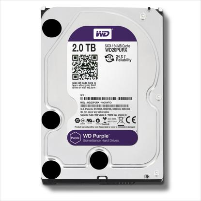 Picture of WD  HDD 2 TB - WD PURPLE SURVEILLANCE HARD DRIVE