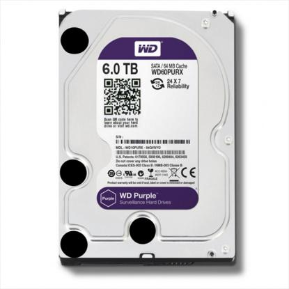 Picture of WD  HDD 6 TB - WD PURPLE SURVEILLANCE HARD DRIVE