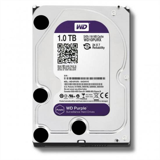 Picture of WD  HDD 1 TB - WD PURPLE SURVEILLANCE HARD DRIVE