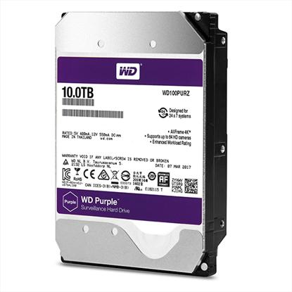 Picture of WD  HDD 10 TB - WD PURPLE SURVEILLANCE HARD DRIVE